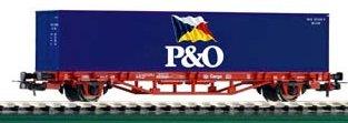 Piko 57706 - Flatcar w/Container P&O DB Cargo V