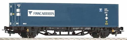 Piko 57730 - Flatcar w/Container FINNCARRIERS NS V