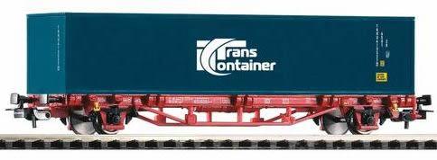 Piko 57773 - Flatcar w/Container Transcontainer DB VI
