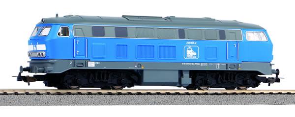 Piko 57905 - German Diesel Locomotive BR 218 of the Press Railroad