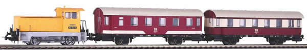 Piko 58135 - Train Set Public Transport with Diesel Locomotive BR 102.1 with 2 Passenger Cars of the DR