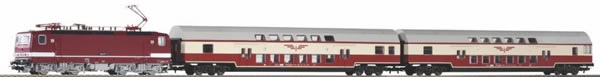 Piko 58143 - German Zugset Sputnik mit Sound-Electric locomotive BR 243 (DCC Sound Decoder)