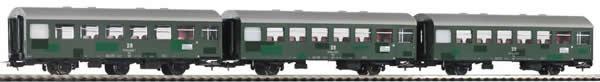 Piko 58358 - 3pc Passenger Coach Set