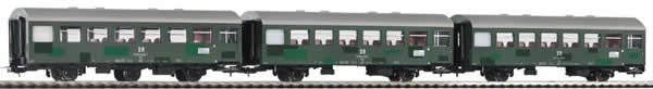 Piko 58358 - 3pc Passenger Coach Set