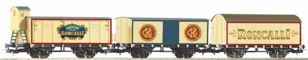 Piko 58374 - Set of 3 freight cars Roncalli