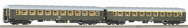 Piko 58389 - Set of 2 passenger cars 111A + 112A of the PKP