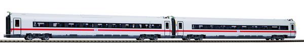 Piko 58585 - Set of 2 add-on cars BR 412 ICE 4 Klimaschützer of the DB AG