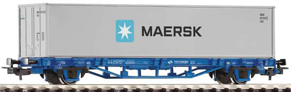 Piko 58743 - Flatcar PKP Cargo with Maersk 40 Container