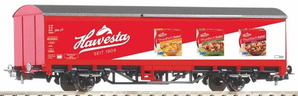 """Piko 58781 - Covered Freight Car """"Hawesta-Fisch"""" DB AG"""
