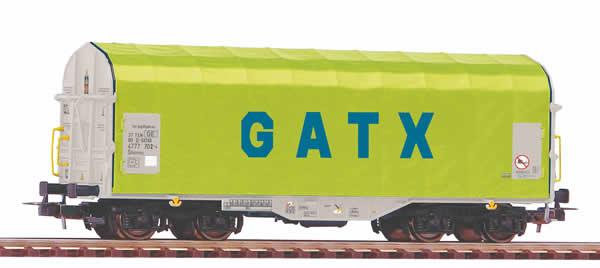 Piko 58958 - Sliding tarpaulin wagon Shimmns GATX