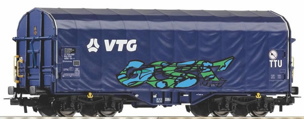 """Piko 58965 -  Sliding tarpaulin wagon """"VTG"""""""