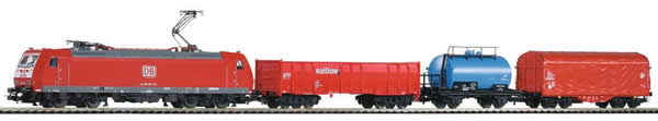 Piko 59004 - PIKO SmartControl® light set freight train BR 185 with 3 freight cars