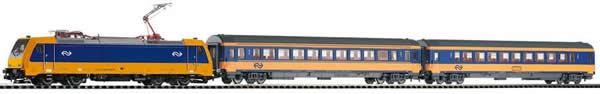 Piko 59005 - PIKO SmartControl® light set passenger train BR 185 NS Intercity with 2 passenger coaches
