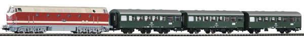 Piko 59008 - PIKO SmartControl® light set passenger train BR 119 with 3 Rekowagen