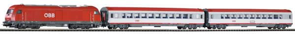 Piko 59009 - PIKO SmartControl® light set passenger train Rh 2016 with 2 passenger cars ÖBB