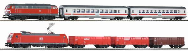 Piko 59011 - PIKO SmartControl® light 2-train set BR 185 + BR 218