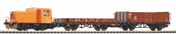Piko 59022 - PIKO SmartControl light set with ballast track DR Freight train with TGK2