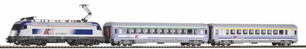 Piko 59024 - PIKO SmartControl light set with ballast track PKP Intercity passenger train