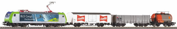 Piko 59028 - PIKO SmartControl light Start-Set BLS Güterzug Rh 485 mit 3 Wagen