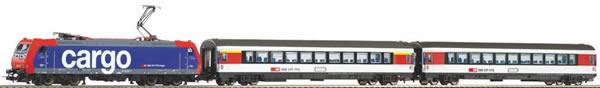 Piko 59029 - SmartControl light Start-Set SBB Personenzug Rh 484SR mit 2 Wagen