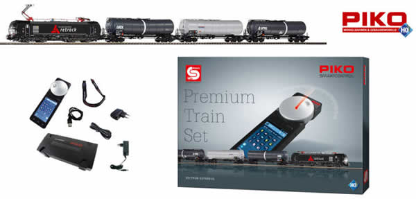 Piko 59113 - Premium Train Freight Train BR 193 Vectron (DCC Sound Decoder)