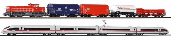 Piko 59114 - Premium Train Set G1206 & ICE (DCC Sound Decoder)