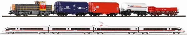 Piko 59118 - PIKO SmartControl® Premium Train Set 2 Train Set ICE & G 1206 NS (DCC Sound Decoder)