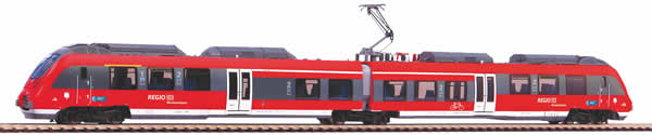 Piko 59310 - German Electric Railcar BR 442 Talent 2 Werdenfels of the DB AG, 2 pcs.