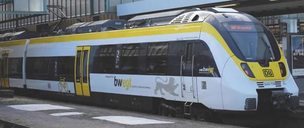 Piko 59311 - 4 pcs. Electric railcar BR 442 Talent 2 Baden-Württemberg
