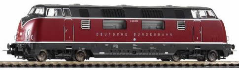 Piko 59709 - German Diesel Locomotive 200.0 V of the DB (DCC Sound Decoder)