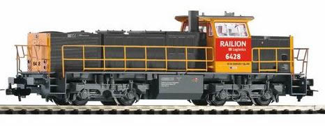 Piko 59822 - 6400 Diesel NS VI Gray/Yellow