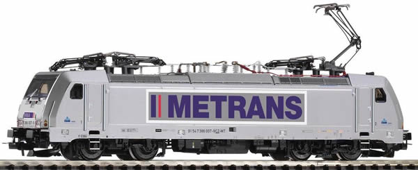 Piko 59863 - Electric Locomotive series 186 of the METRANS