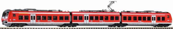 Piko 59896 - 3pc Electric Railcar BR 440 Mainfrankenbahn of the DB AG