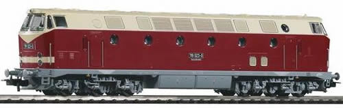Piko 59935 - BR 119 Diesel DR IV Upper Light Gray Chassis