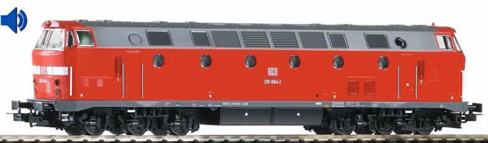 Piko 59938 - German Museum Diesel Locomotive 219084-1 of the DB AG (DCC Sound Decoder)