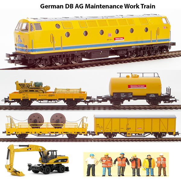 Piko 5994011 - German DB AG Maintenance Work Train