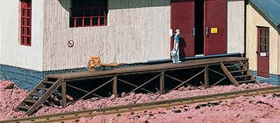 Piko 62287 - Loading Dock for Goods Sheds