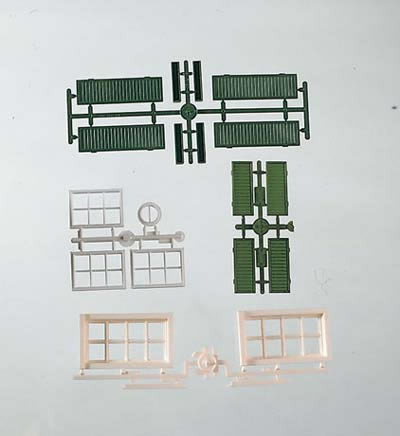 Piko 62805 - Components Windows & Shutters