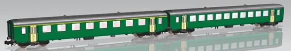 Piko 94392 - Set of 2 passenger cars EW I of the SBB