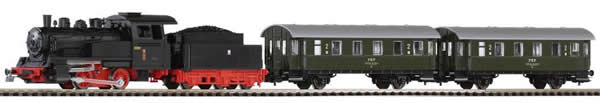 Piko 97920 - Polish Starter set passenger train with steam locomotive