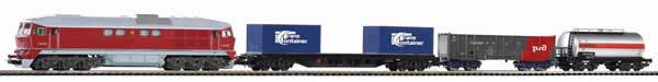 Piko 97921 - Starter set freight train SZD diesel locomotive BR 130