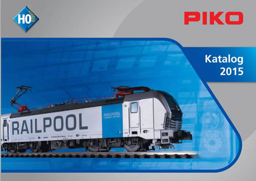 Piko 99505 - 2015 HO Scale Catalog