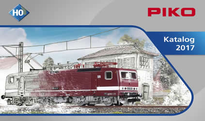 Piko 99507 - 2017 HO Scale Catalog