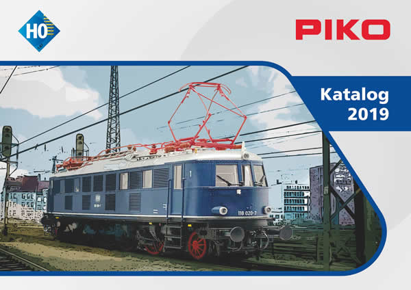 Piko 99509 - Piko HO Full Line Catalog 2019 English Text