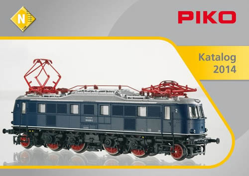 Piko 99694 - 2014 N Scale Catalog