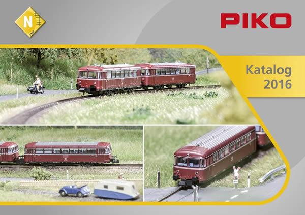 Piko 99696 - 2016 N Scale Catalog