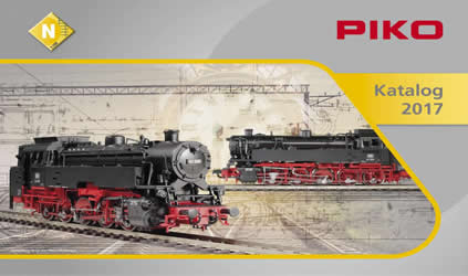 Piko 99697 - 2017 N Scale Catalog