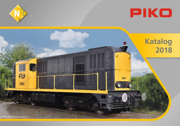 Piko 99698 - 2018 N Scale Catalog