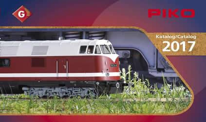 Piko 99707 - 2017 G Gauge Catalog