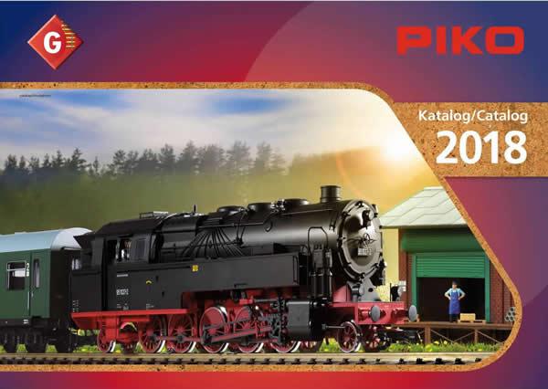 Piko 99708 - 2018 G Scale Catalog